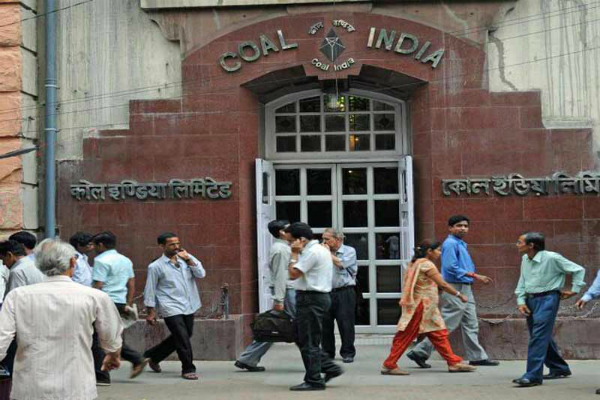 coal india  equity shares  million