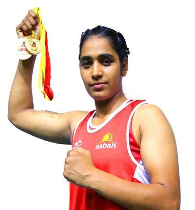haryana klawanti champion boxer gold medal