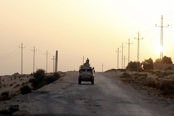 6 militants killed and 4 soldiers has lost his life in sinai