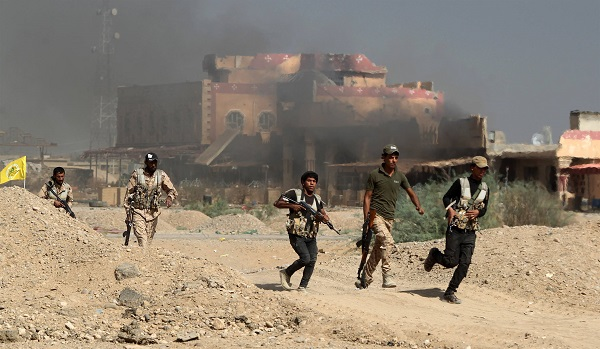 74 terrorist killed in clashes between iraqi force