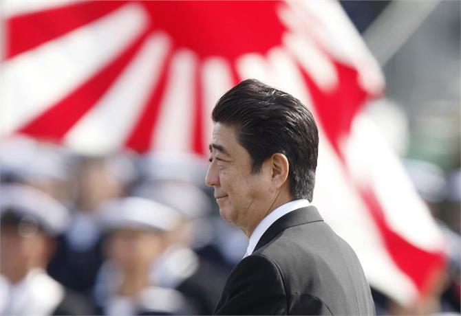 japan ruling party may change rules to allow abe to extend term