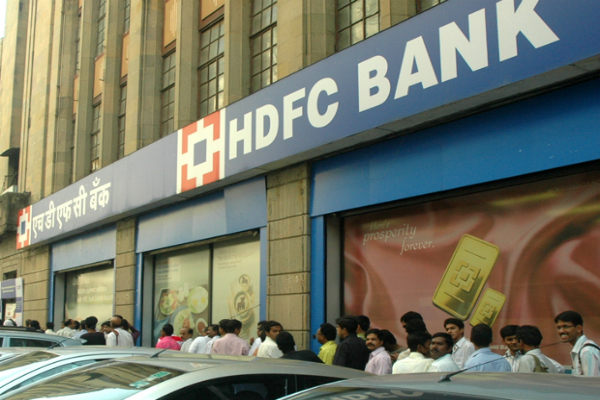 hdfc bank reliance industries