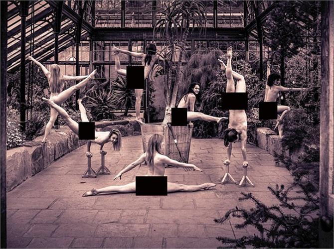 cambridge university studants did nude photoshoot