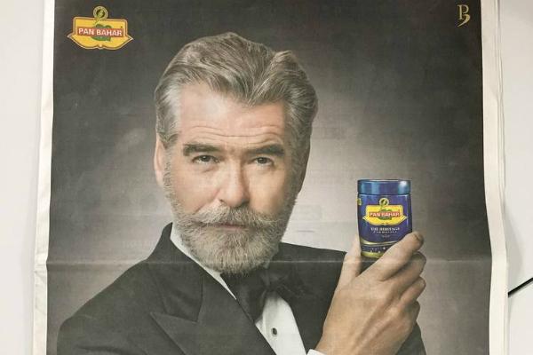 pan masala advertising