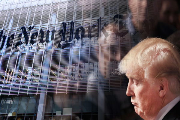 the new york times response to donald trump