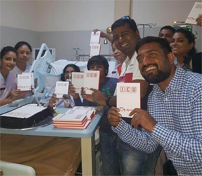 ex rj launched her book from icu bed pallavi rao