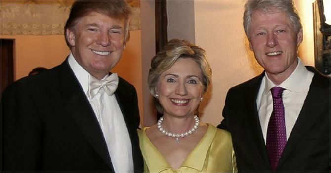 bill clinton hillary and trump controversial revelations in the discussion