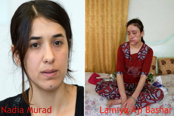 two yazidi women and former isis sex slaves just won the eu human rights prize