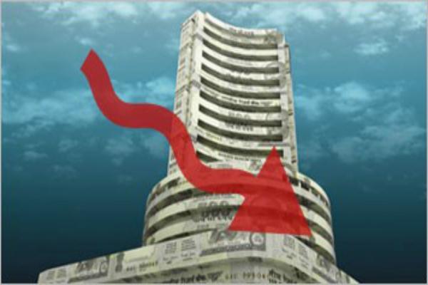 sensex down 100 points  the stock market decline