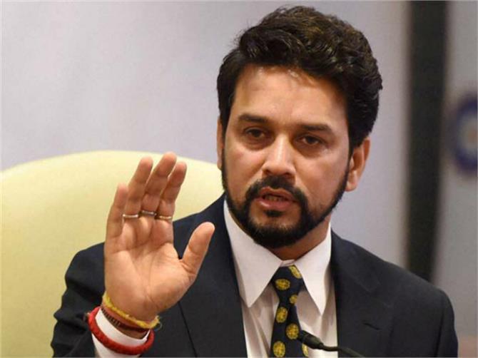 anurag thakur former cricketer javed miandad