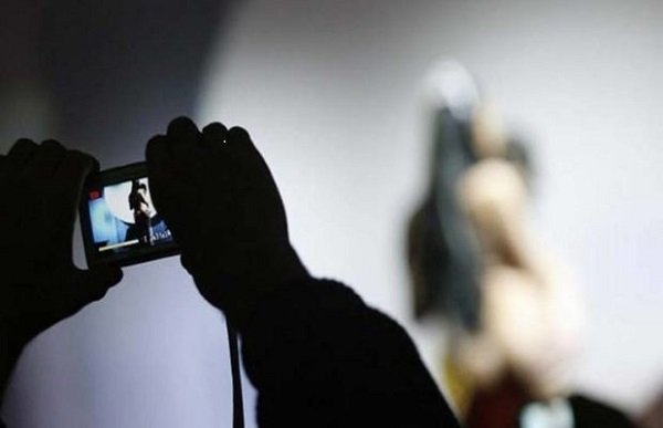 22 years student arrested to filmed by secret camera