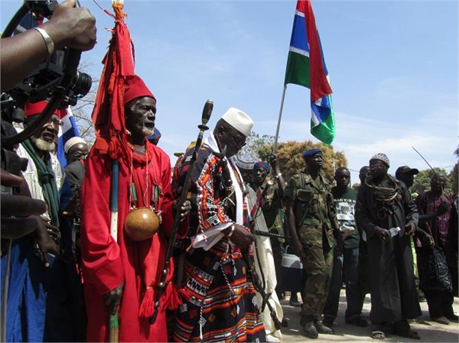 african country gambia announced to quit icc