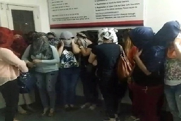 haryana massage parlor prostitution gurgaon police