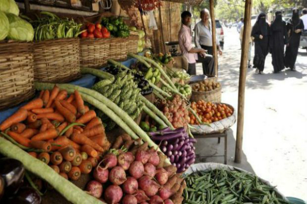 retail inflation vegetable