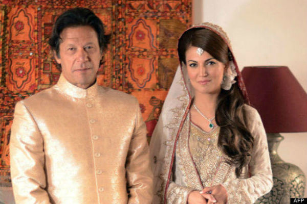 asked imran khan for anniversary gift he divorced me instead reham