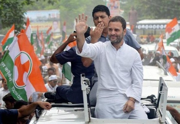congress leader rahul accused of assault in a message traveling out for 6 years