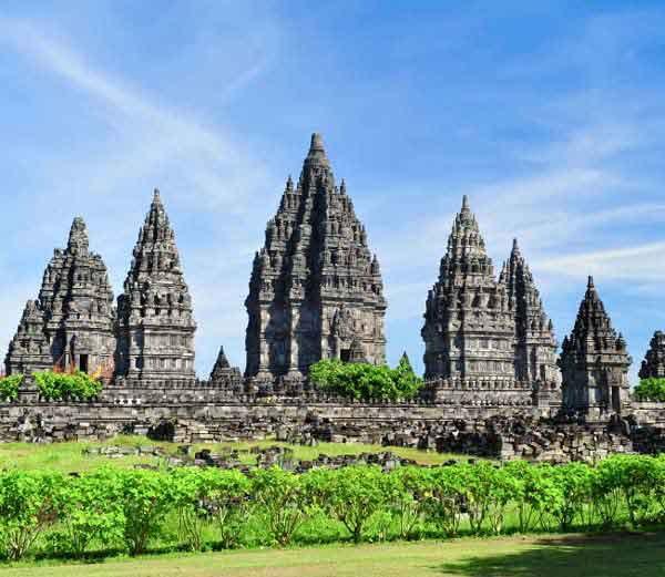 prambanan temple of hindu lord shiv in indonesia