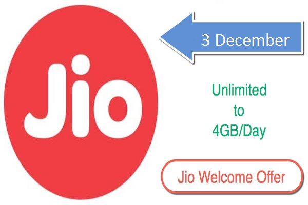 jio offer only for buyer before three december