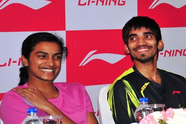 sindhu and srikanth became the bank s brand ambassador