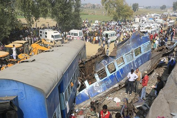 kanpur released a list of the dead were killed in train mishap