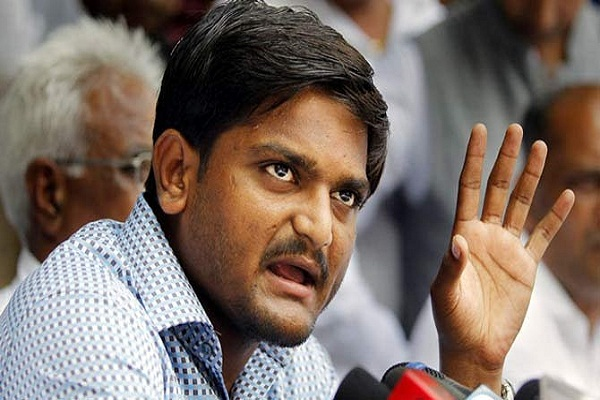 hardik noted prisoner attacked the bjp vowed to overthrow