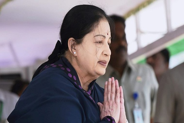 rebirth of workers got compliments  jayalalithaa