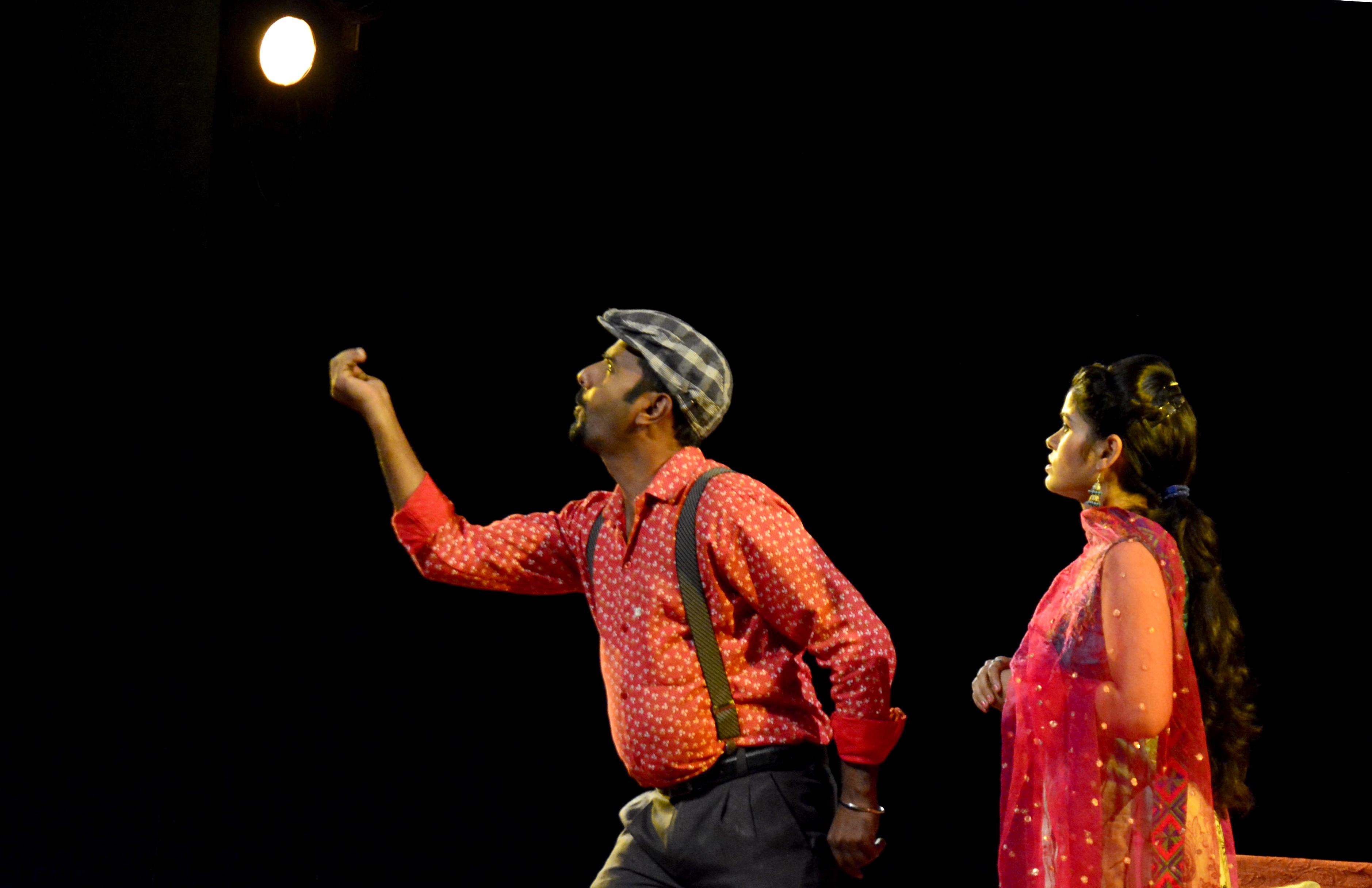 punjabi play   hums   staged