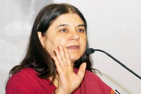 india rape case in the lower four countries  maneka