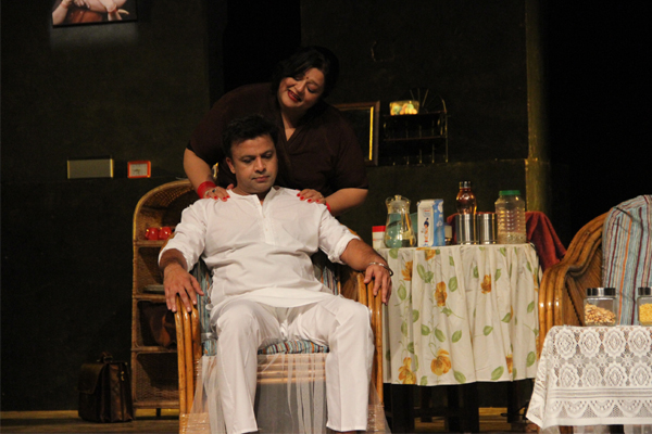 agore theatre play  aahat   staging