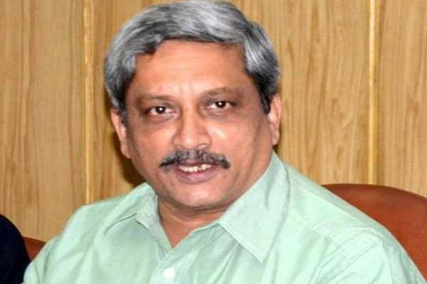 parrikar condemned kashmir  incident