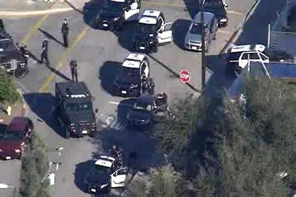 one killed in california polling station shooting