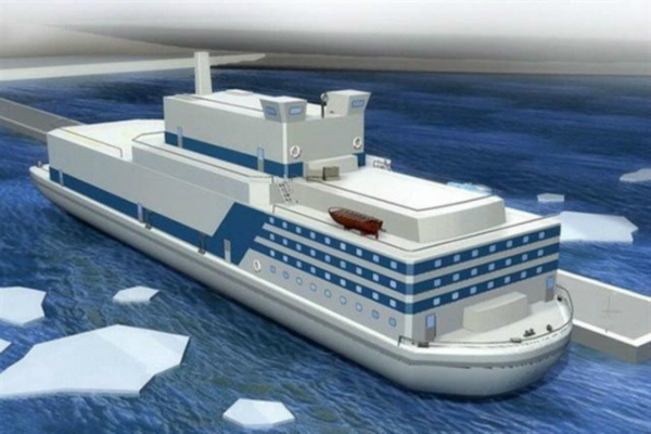china started to build its first floating nuclear power reactor