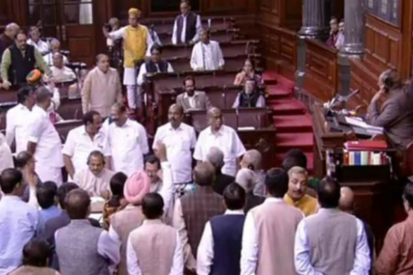 debate in parliament on note ban