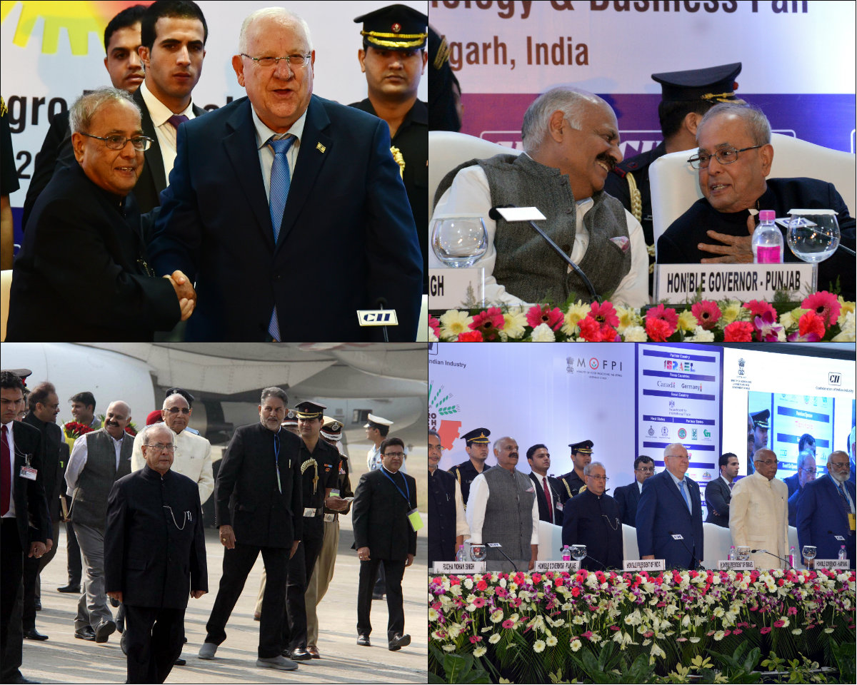 israel is willing to walk side by side with india   rivlin