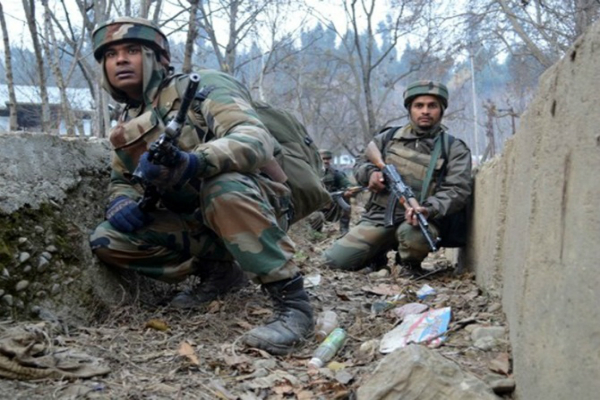encounter underway between security forces and terrorists in sopore