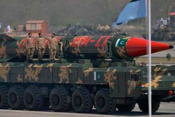 pakistan also 130 to 140 nuclear weapons