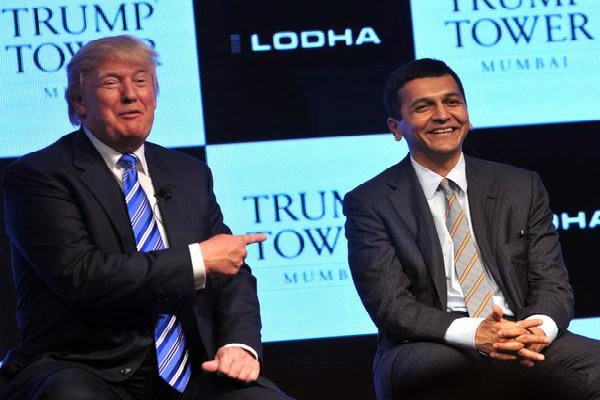 trump    s india connection