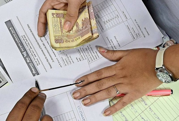 election commission writes to finance ministry not to use indelible ink in banks