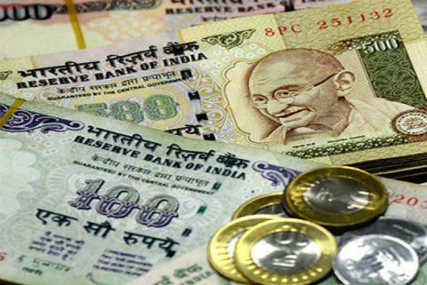 rupee holds up gains 3 paise opens at 66 72