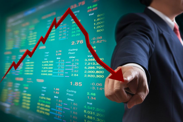 stock market decline in early trade  sensex down 360 points