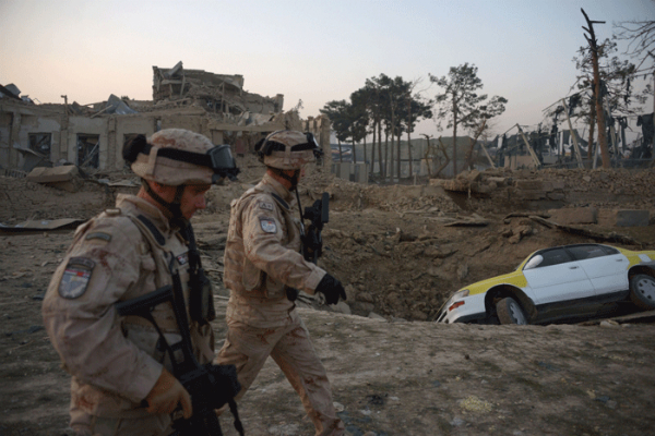 casualties as explosion hits largest us base in afghanistan nato