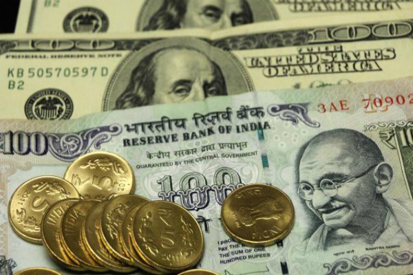 rupee down 42 paise in early trade