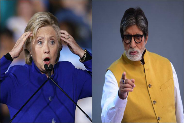 guess why amitabh bachchan made his way to leaked hillary clinton emails
