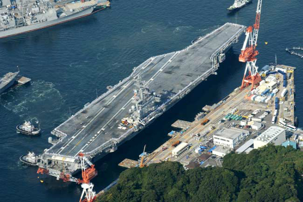 us naval base in japan briefly in lockdown amid reports of gunshots