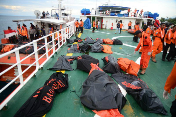 indonesia ferry sinking death toll was 36  24 missing