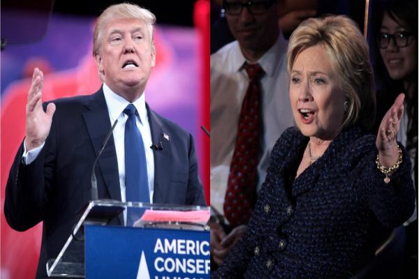 rallies thrown trump hillary star power