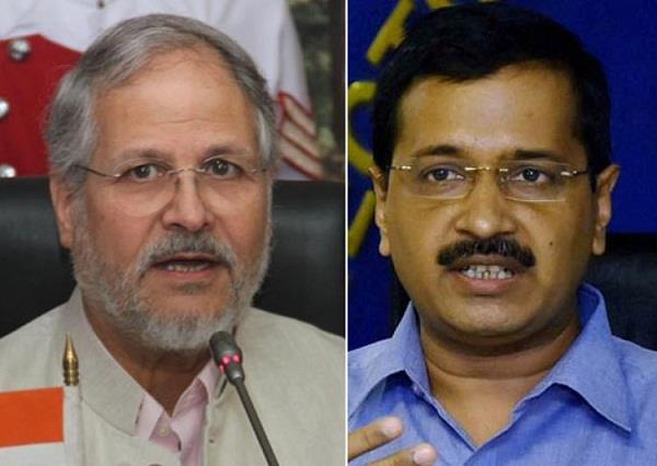 najeeb jung and aap set for fresh face off