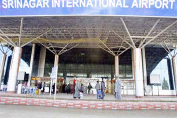 srinagar airport opened after 6 days