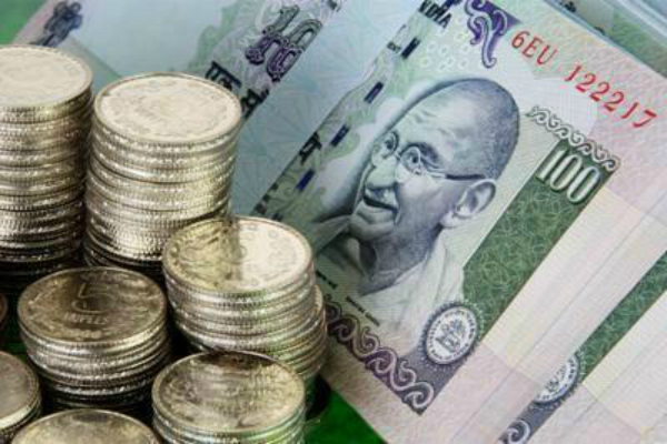 the rupee traded at the beginning of the two month high