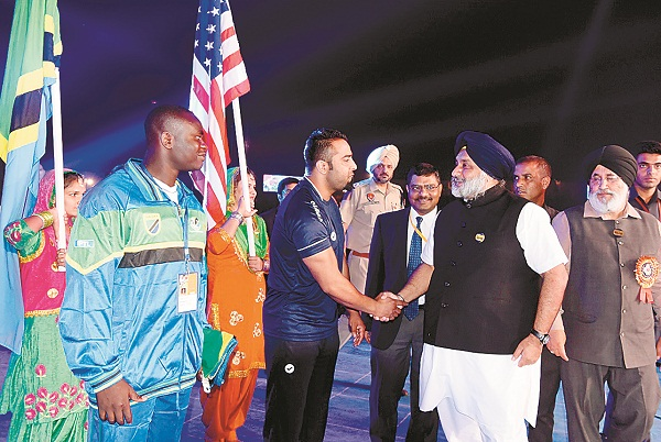 world kabaddi cup opened  the first match today in gurdaspur